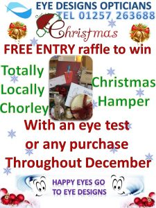 hamper,win,prize,opticians,christmas