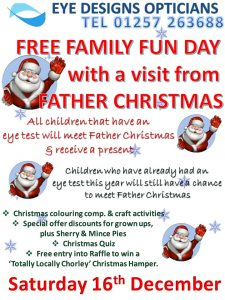 family fun day,free,event,eyecare,christmas,eyes,children